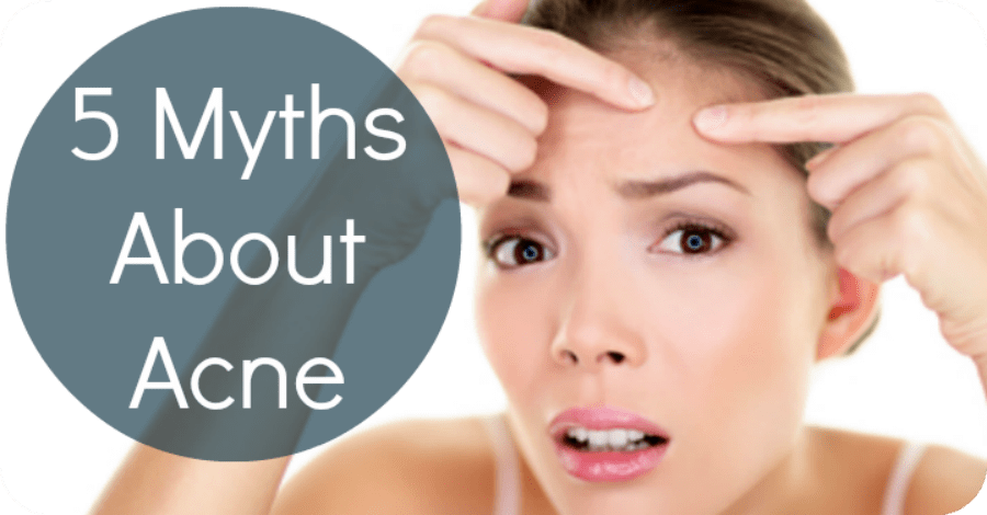 5 Myths About Acne