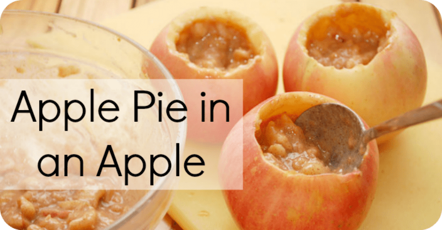 Apple Pie in an Apple Recipe