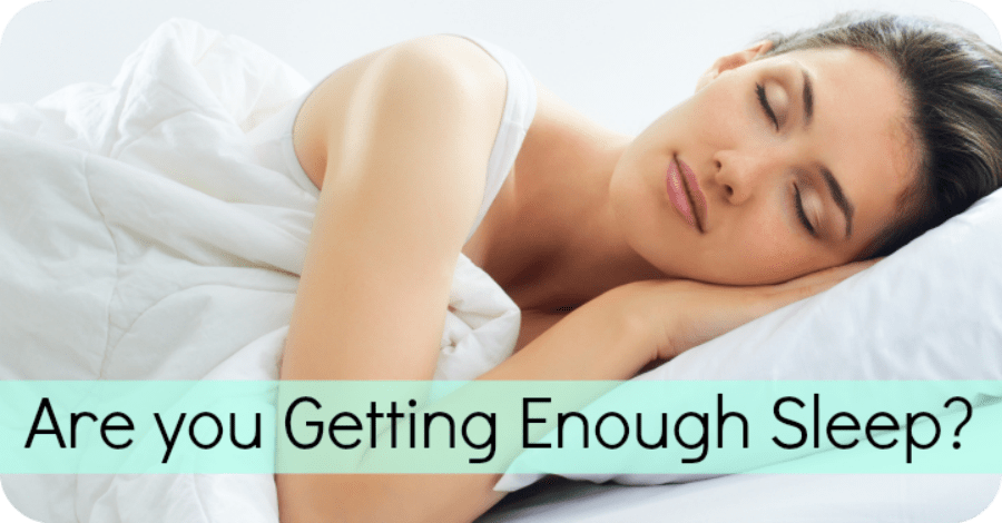 Are You Getting Enough Sleep?