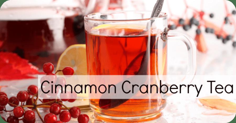 Cinnamon Cranberry Tea Recipe