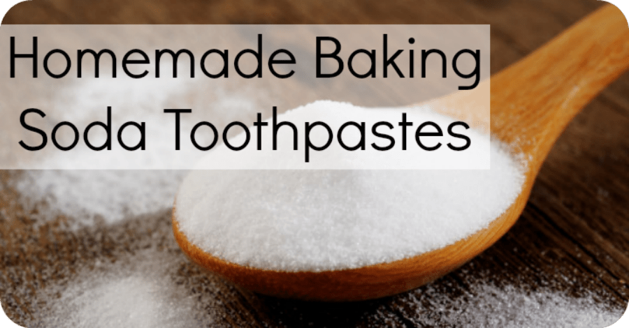 Homemade Baking Soda Toothpaste Recipes