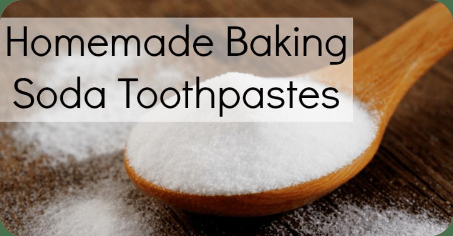 Homemade Baking Soda Toothpaste Recipes