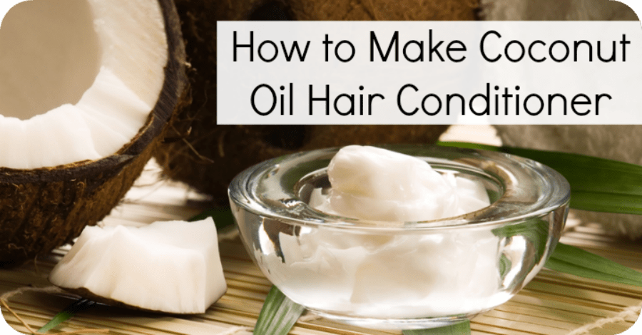 How to Make Coconut Oil Hair Conditioner