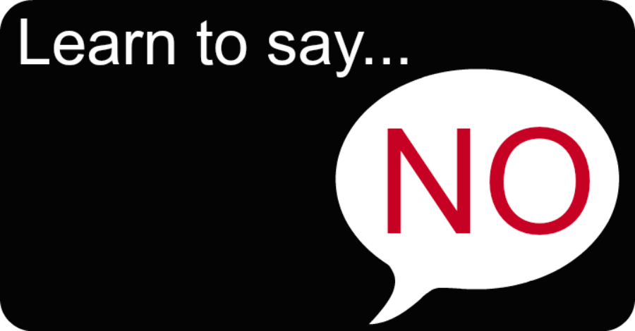 How to Learn To Say No