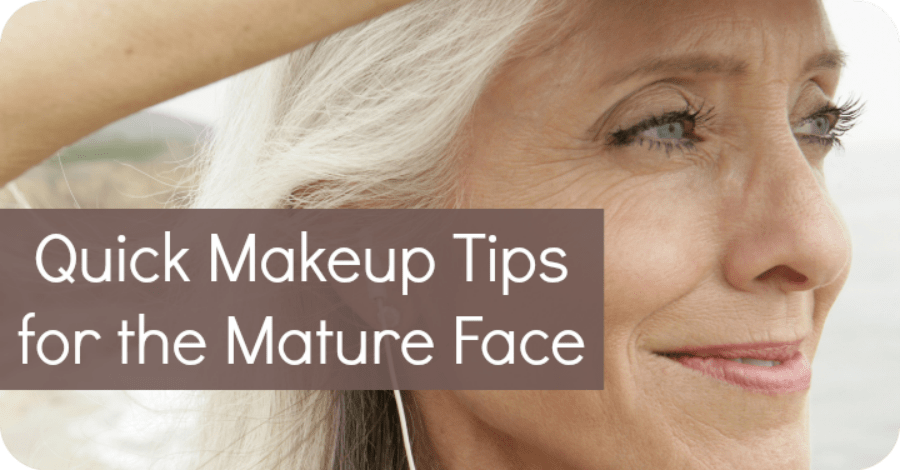 Quick Makeup Tips for the Mature Face