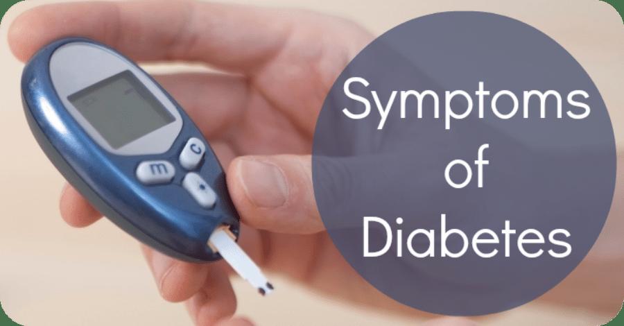Signs and Symptoms of Diabetes Mellitus