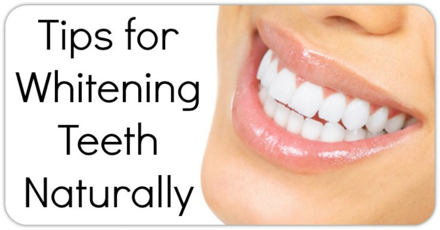 Tips for Whitening Teeth Naturally