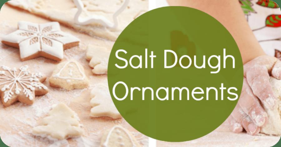 How to Make Salt Dough Ornaments