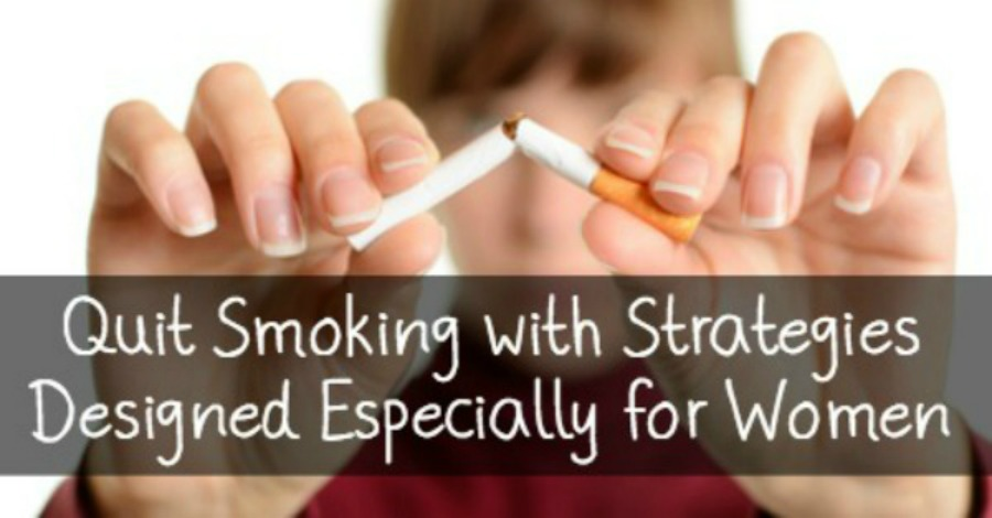 Quit Smoking with Strategies Designed Especially for Women