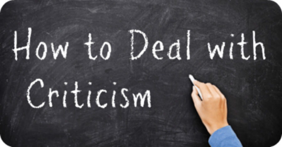 How To Deal With Criticism - https://healthpositiveinfo.com/how-to-deal-with-criticism.html
