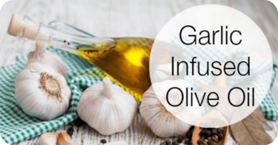 Garlic Infused Olive Oil Recipe