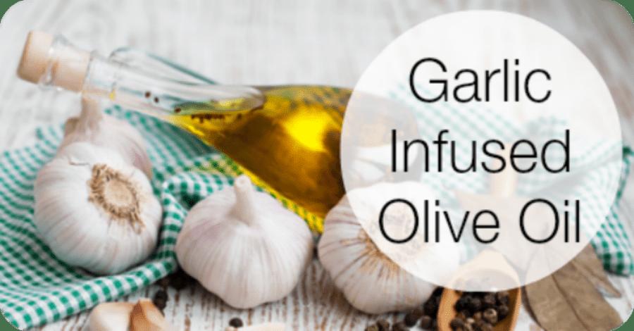 Garlic Infused Olive Oil Recipe