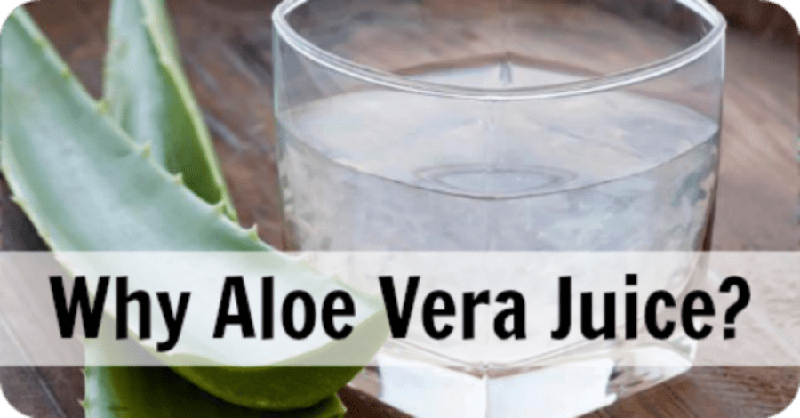 Why Drink Aloe Vera Juice?