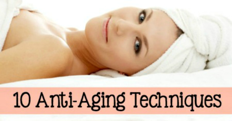 10 Natural Anti Aging Techniques