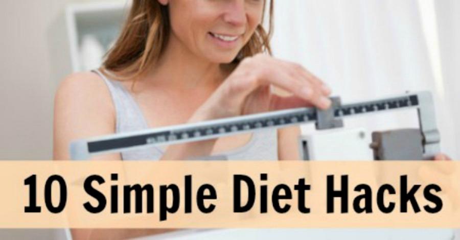 10 Simple Diet Hacks