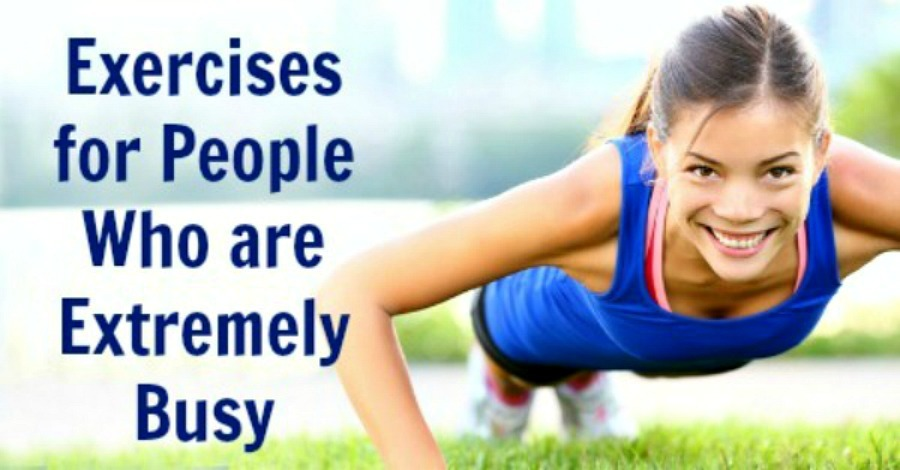 Exercises for People Who are Extremely Busy