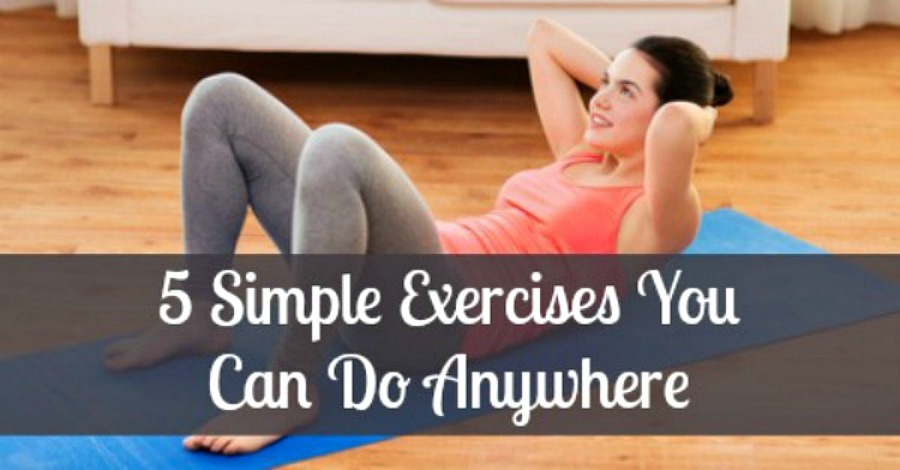 5 Simple Exercises You Can Do Anywhere - https://healthpositiveinfo.com/5-simple-exercises-you-can-do-anywhere.html