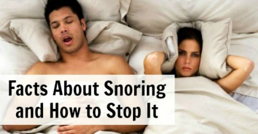 Facts about Snoring and How to Stop It