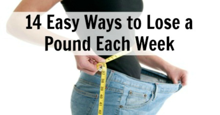14 Easy Ways to Lose a Pound a Week