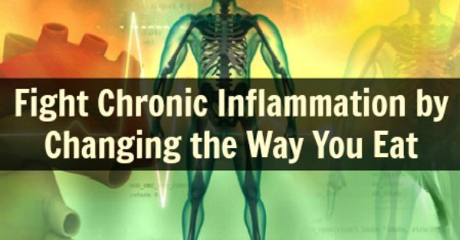 Fight Chronic Inflammation by Changing the Way You Eat