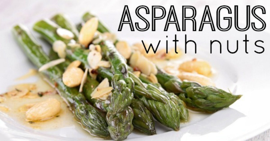 Asparagus with Nuts Recipe