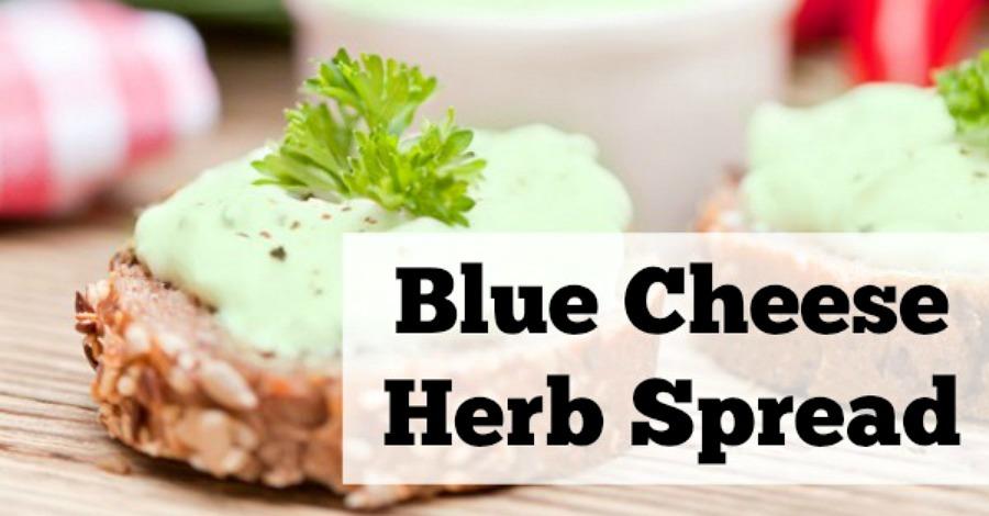 Blue Cheese Herb Spread Recipe