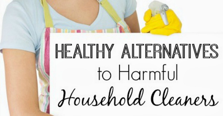 Healthy Alternatives to Harmful Household Cleaners - https://healthpositiveinfo.com/harmful-household-cleaners-alternatives.html