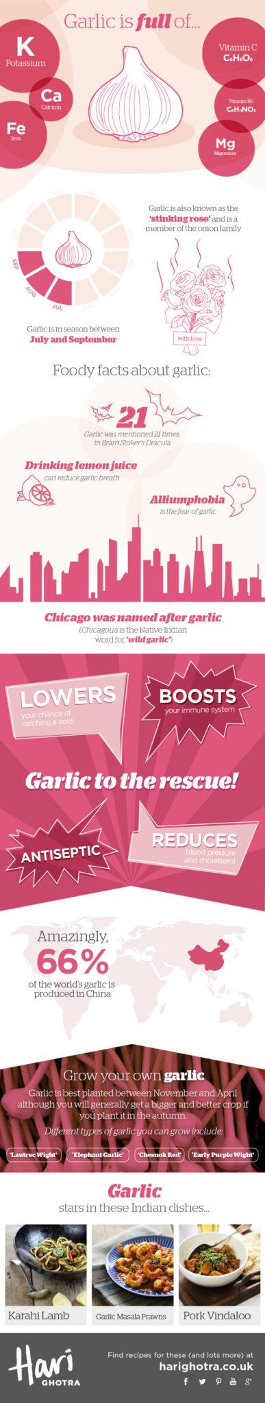 Garlic Infographic ~ https://healthpositiveinfo.com/garlic-infographic.html