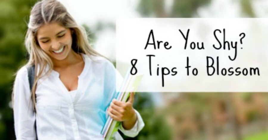 Are You Shy? 8 Tips To Blossom