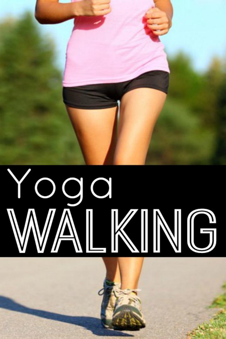 Yoga Walking Tips - https://healthpositiveinfo.com/yoga-walking.html