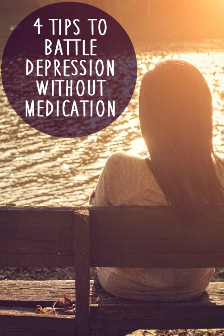 4 Tips to Battle Depression without Medication - https://healthpositiveinfo.com/battle-depression-without-medication.html