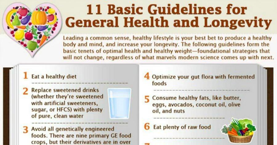 11 Keys to Good Health and Longevity
