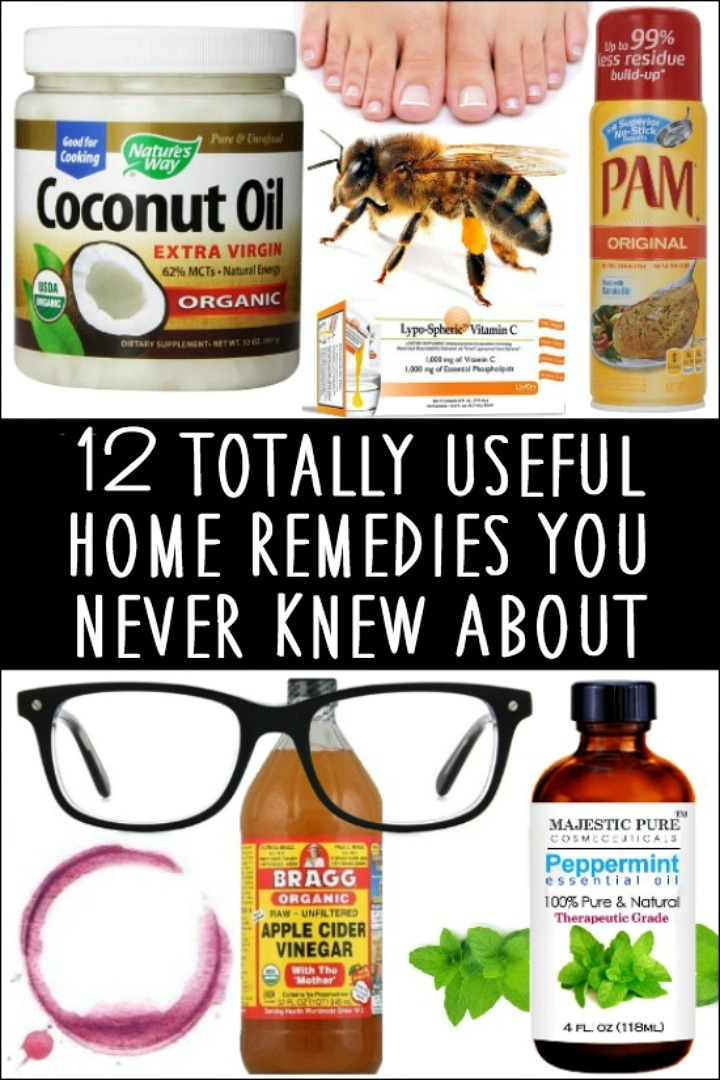 12 Totally Useful Home Remedies You Never Knew About - https://healthpositiveinfo.com/useful-home-remedies.html