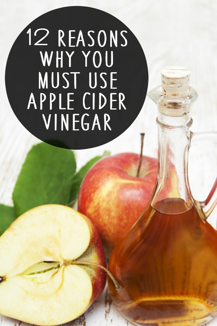 12 Reasons Why You Must Use Apple Cider Vinegar ~ https://healthpositiveinfo.com/must-use-apple-cider-vinegar.html