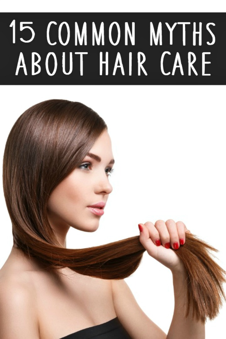 15 Common Myths about Hair Care - https://healthpositiveinfo.com/myths-about-hair-care.html