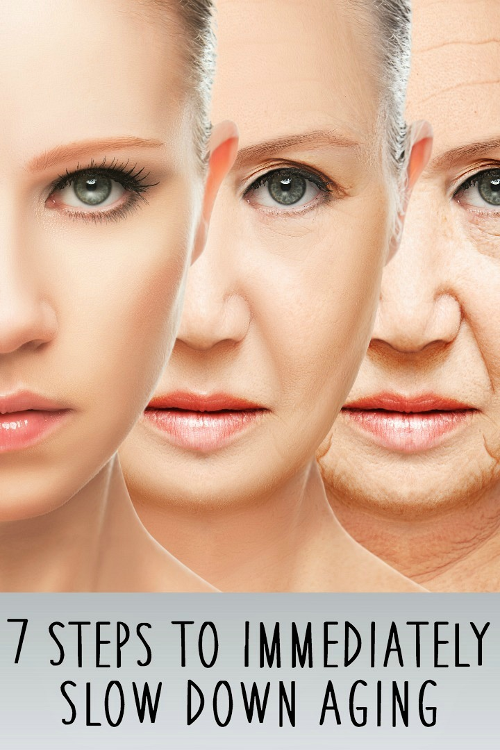 7 Steps To Immediately Slow Down Aging - https://healthpositiveinfo.com/slow-down-aging.html