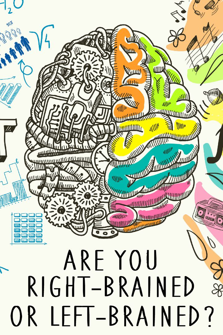 Are you Right-Brained or Left-Brained ~ https://healthpositiveinfo.com/right-brained-or-left-brained.html
