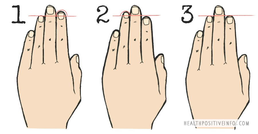 Here's What the Length of Your Fingers Reveals About Your Personality