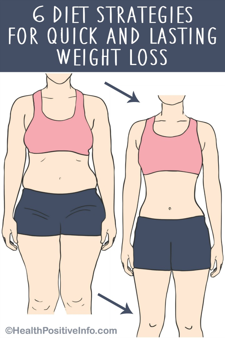 6 Diet Strategies for Quick and Lasting Weight Loss ~ https://healthpositiveinfo.com/diet-strategies-for-weight-loss.html