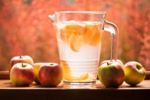 Ways to stay hydrated in the hot weather with fruit infused water