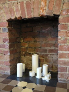 Ask Mr Pedometer and Friends about indoor air pollution - pic of an unused fireplace