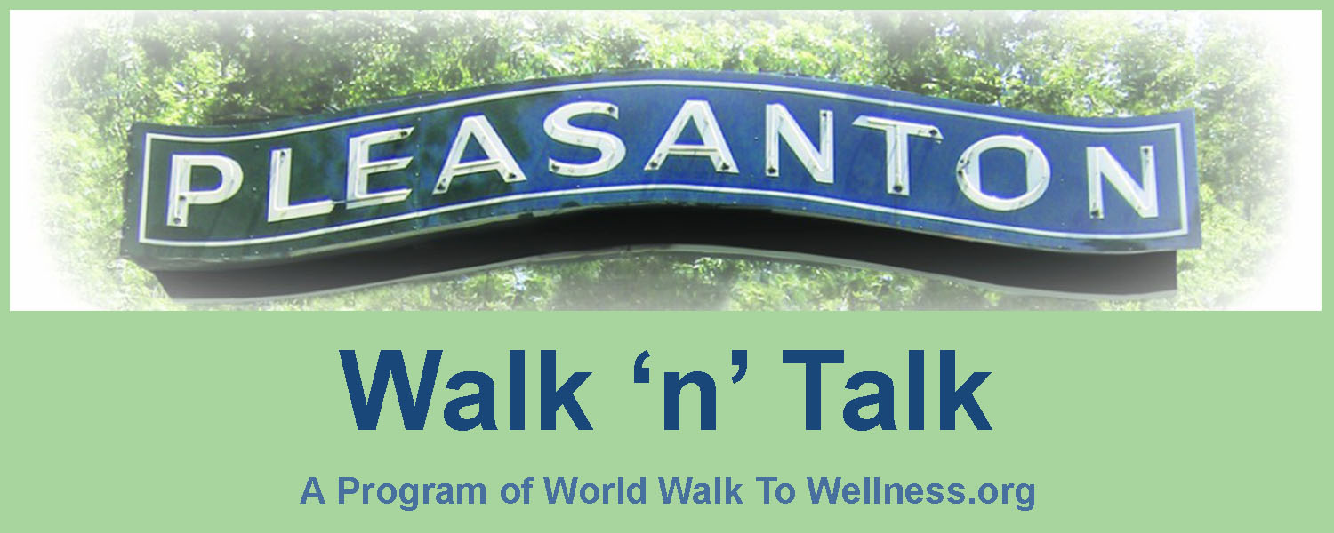 Pleasanton Walk n Talk logo