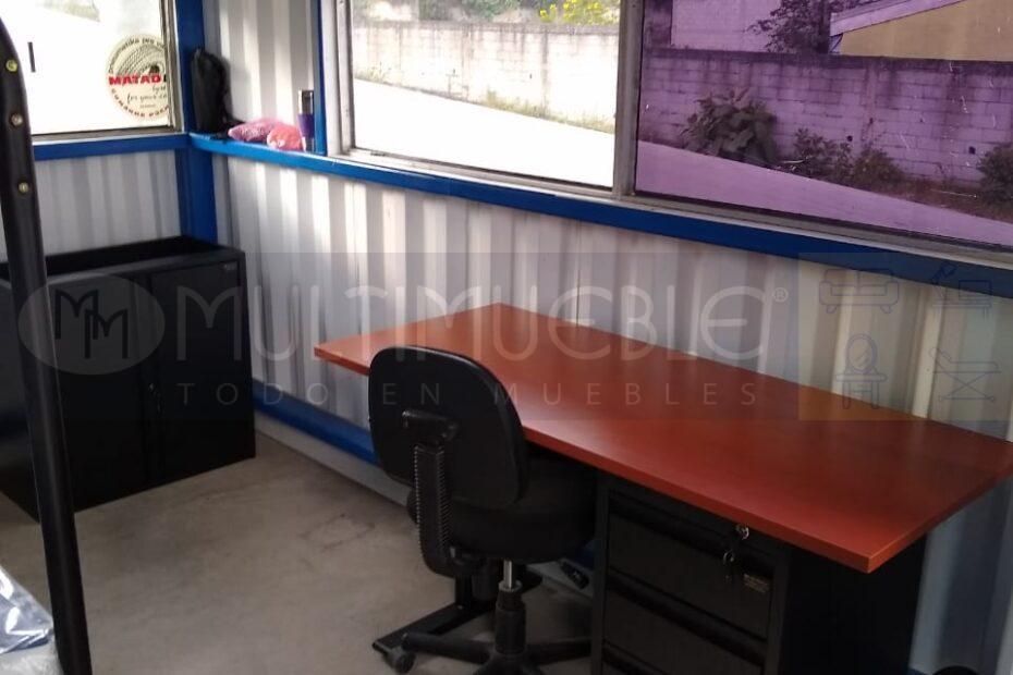 escritorio, silla y litera