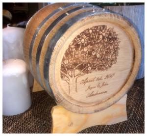 Custom Wedding Barrel