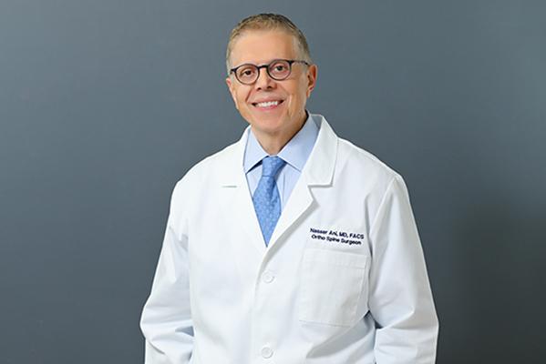 headshot of one jersey rthopedic surgeon dr. nasser ani