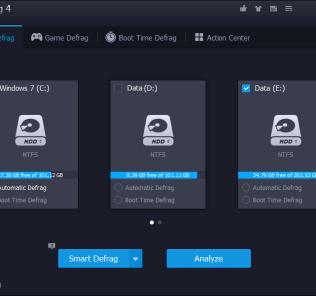 IObit Smart Defrag 4 Disk Defrag