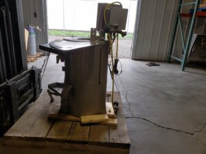 used ollari and conti small offal washer side
