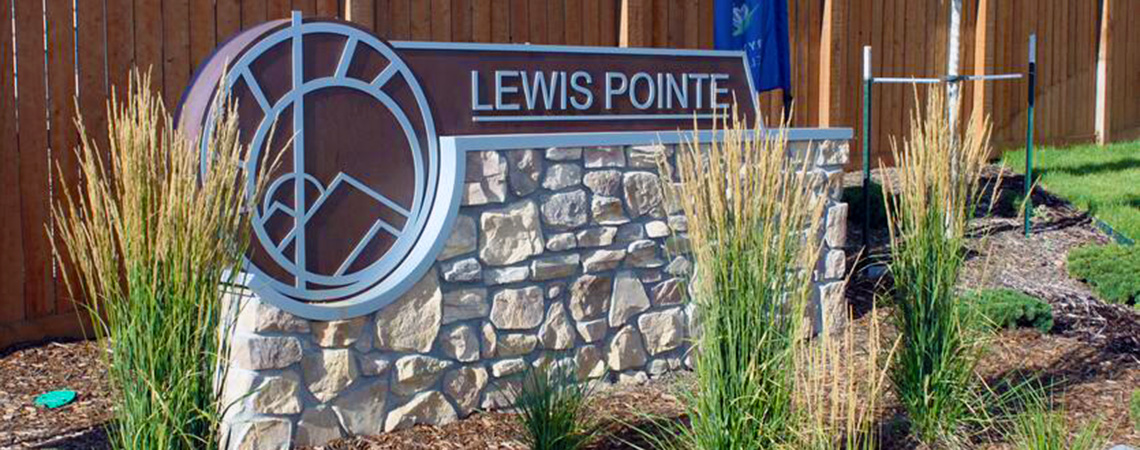 Welcome to Lewis Pointe
