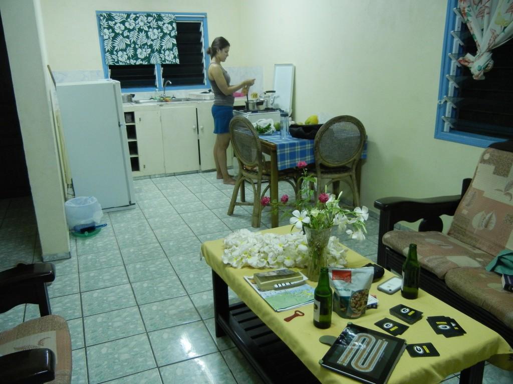 Cooking at Jabsina Guest House Port Villa
