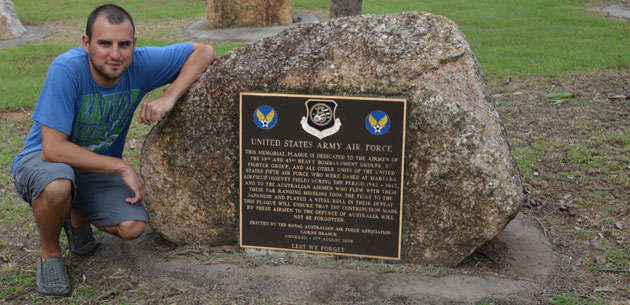 The U.S. Army Air Force Memorial at Rocky Creek